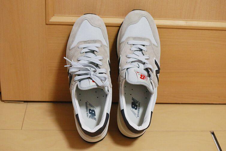 996をちょっと古臭く、レトロにしたような靴がニューバランス995!