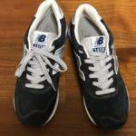 ニューバランスの靴紐を隠す